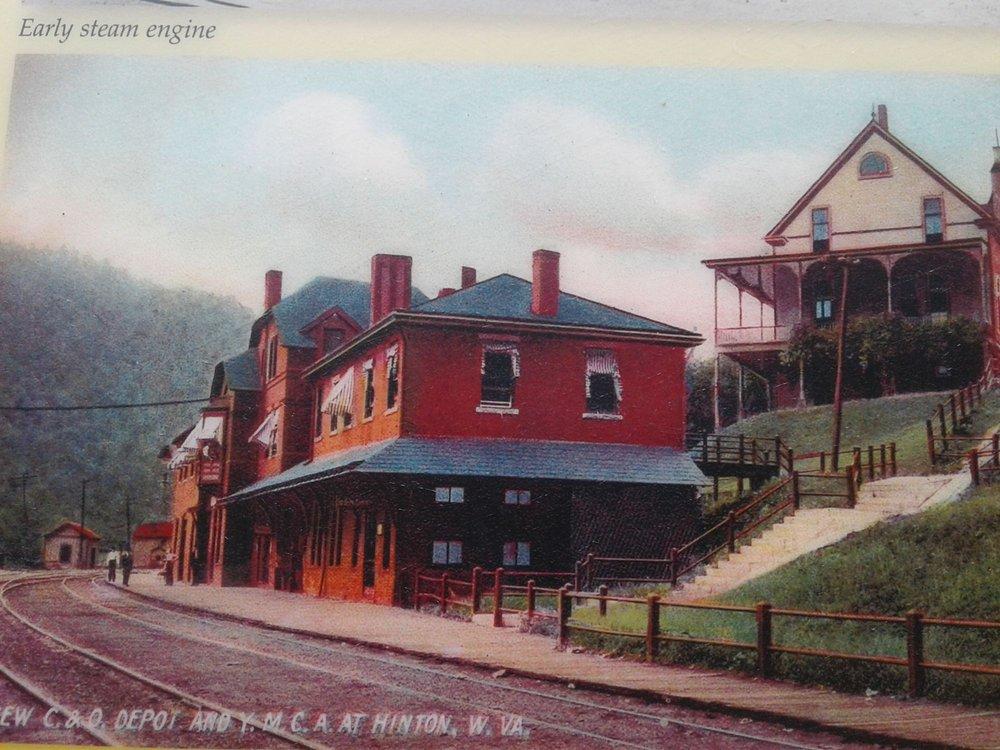 Historical Hinton C&O Railroad Depot: Hinton Station, Hinton, WV