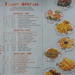 Photo Of King Garden   New York, NY, United States. Lunch Menu