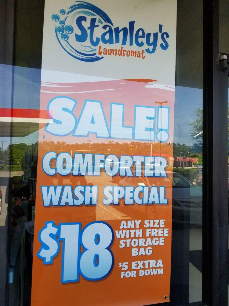 Stanley's Laundromat: 527 S Washington Hwy, Ashland, VA