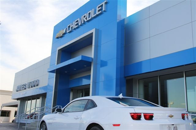 James Wood's newly remodeled Chevrolet Building in Denton ...