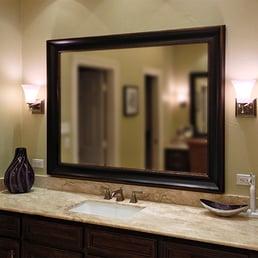 Bathroom Mirrors Honolulu texas custom mirrors - glass & mirrors - 5563 de zavala rd, san