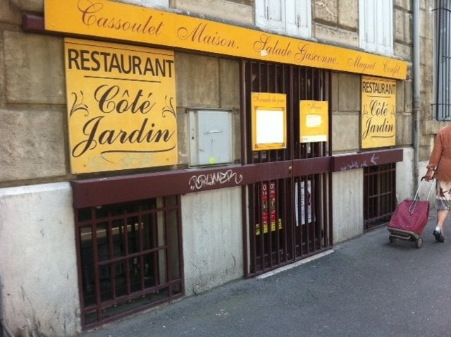 Restaurant c t jardin 13 avis restaurant fran ais for Restaurant le jardin marseille