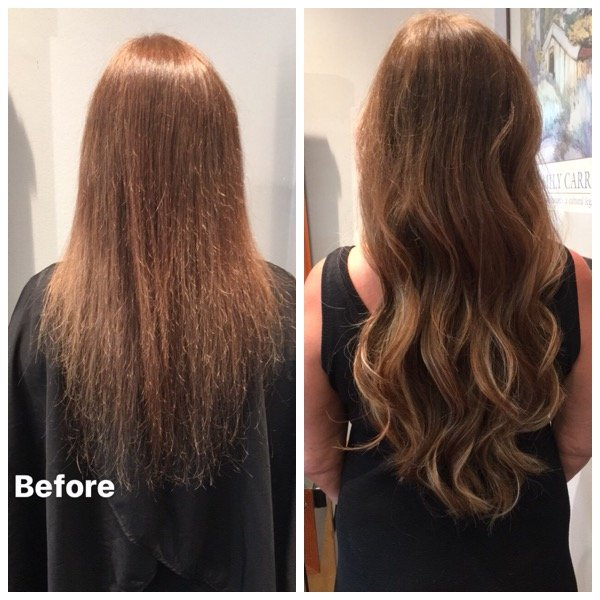 Bond With Bronde Brunette With Blonde Great Lengths Hair Extensions
