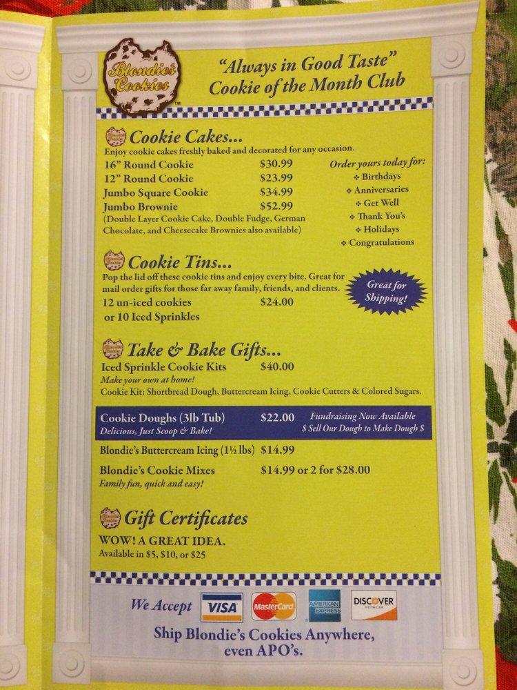 Blondie's Cookies: 3501 N Granville Ave, Muncie, IN
