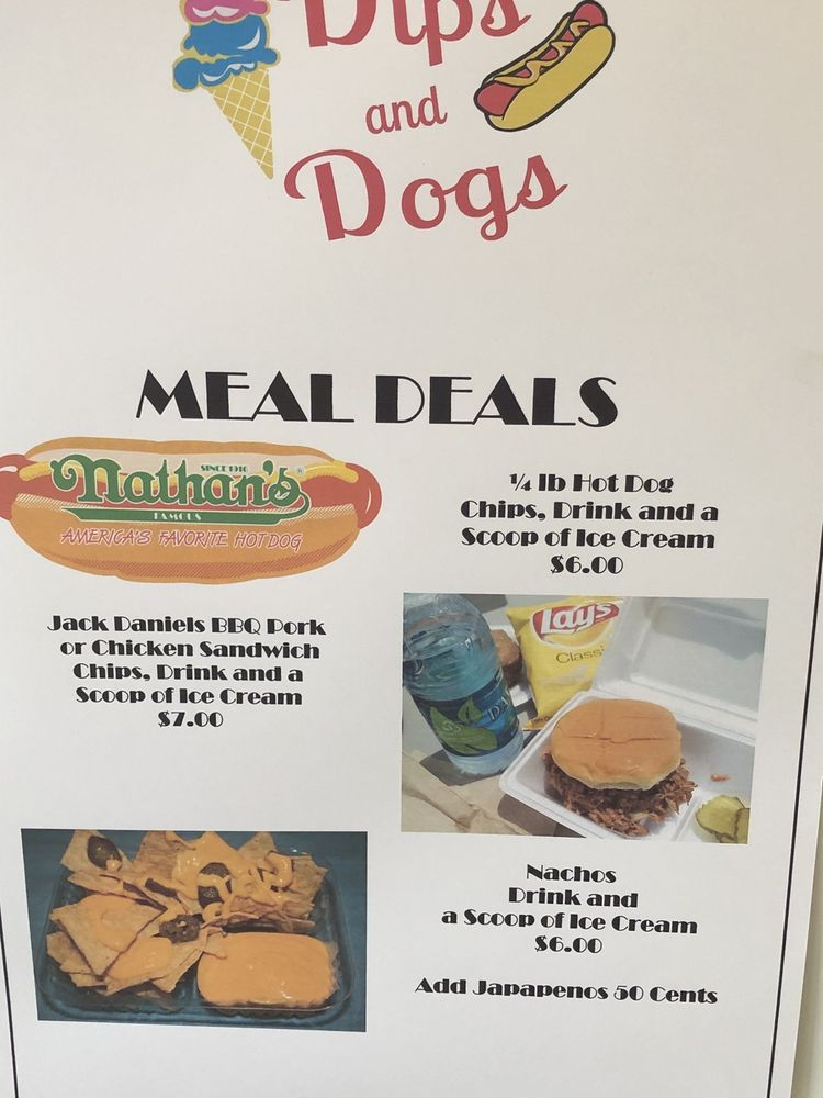 Dips And Dogs: 72 S Foreat Ave, Luverne, AL