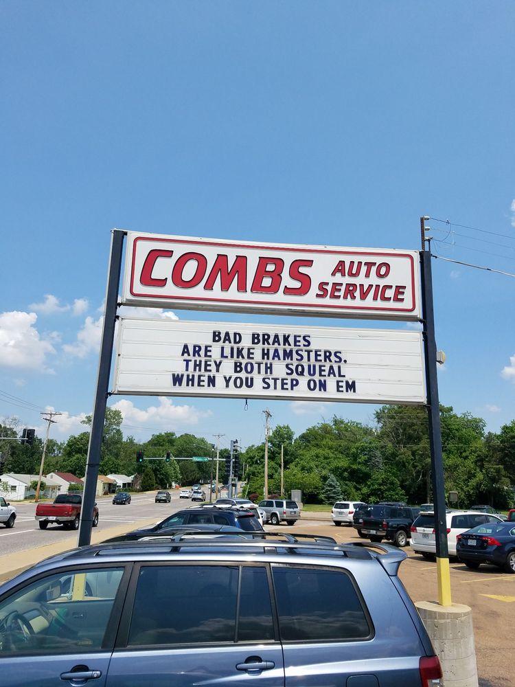 Combs Auto Service & Tire Center: 10520 Big Bend Rd, Kirkwood, MO