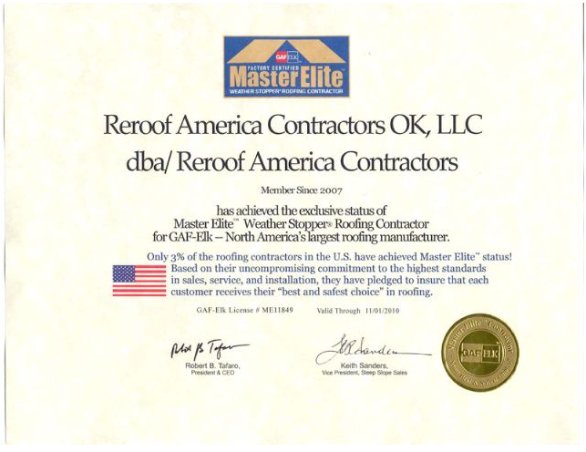 Photos For Reroof America Contractors Yelp