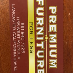 Photo Of Designer Furniture Showroom   Lancaster, CA, United States.  Business Card