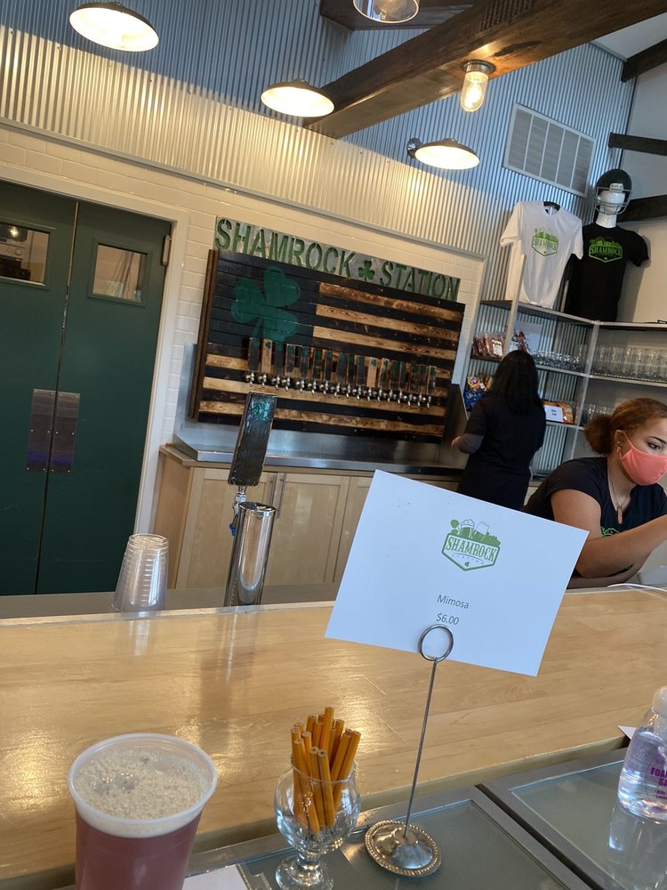 Food from Shamrock Station Brewery