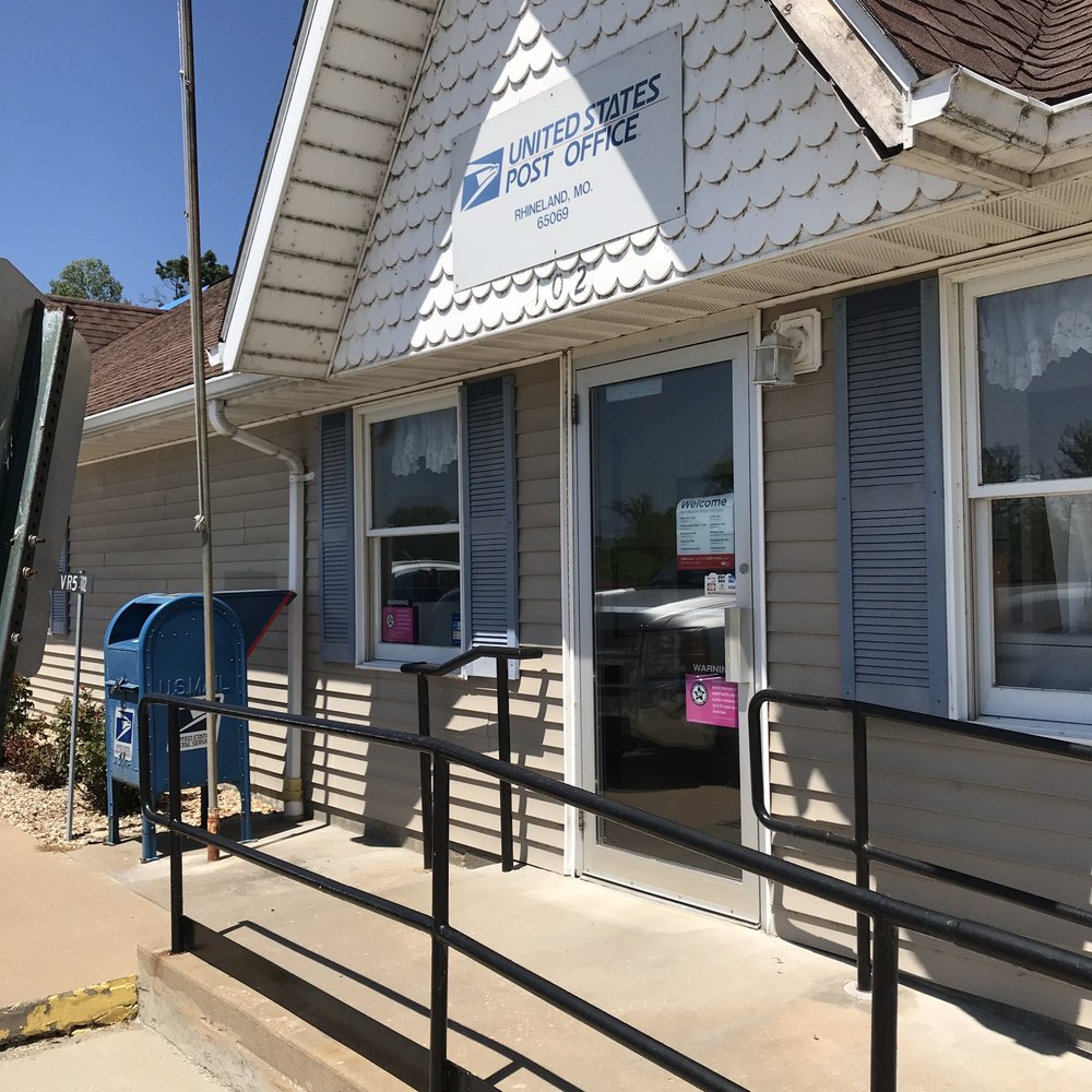 US Post Office: 102 Bluff St, Rhineland, MO