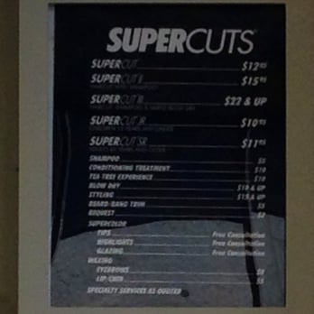 supercuts haircut cost supercuts 18 photos amp 19 reviews hair salons 2726 e 3032