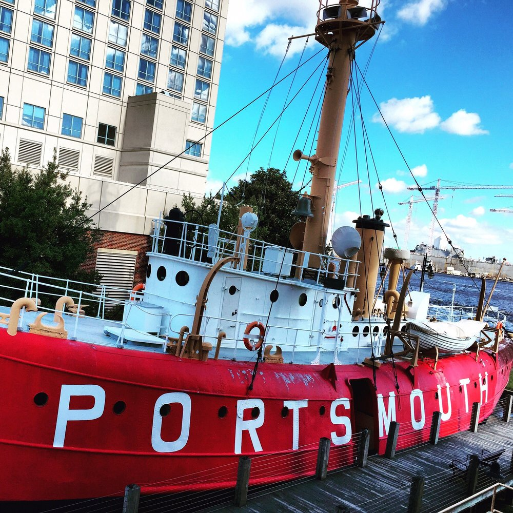 U.S Lightship Portsmouth: 425 Water St, Portsmouth, VA