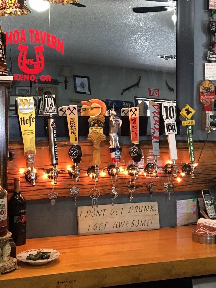 Whoa Tavern: 15468 Hwy 66, Keno, OR