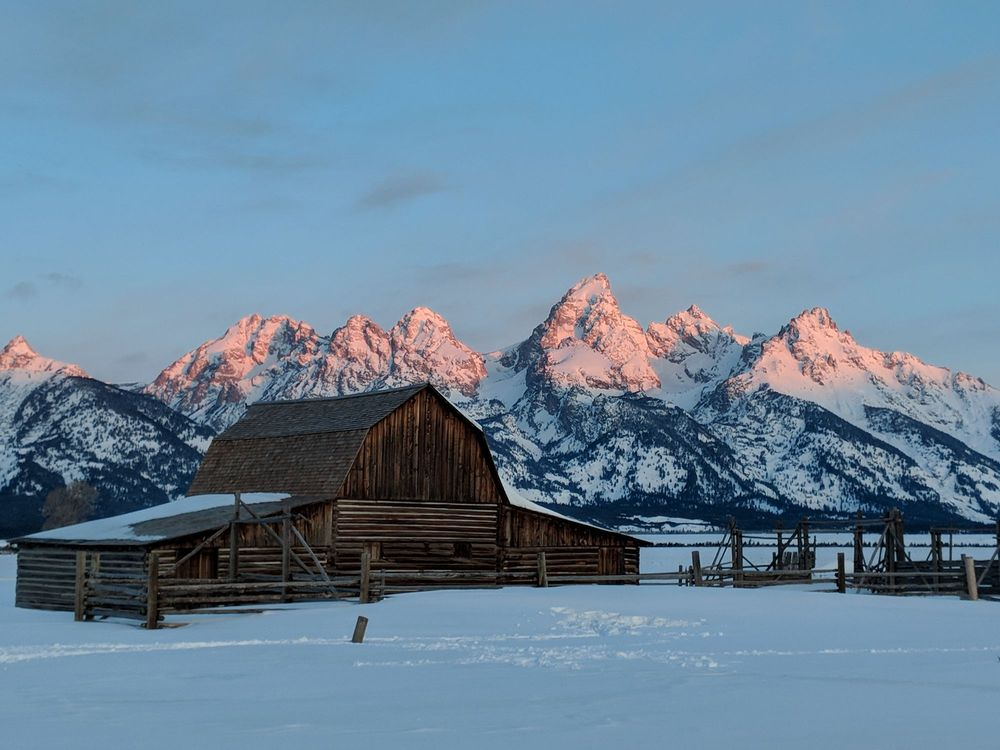 Mormon Row - Historic District: 202 Mormon Barn Antelope Flats Rd, Moose, WY
