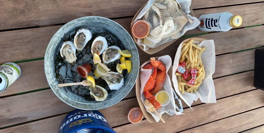 Food from Shuck Shack