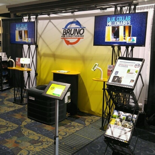 Home And Trade Show Display! Always Raffling Off $1,000
