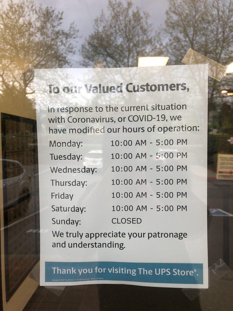 The UPS Store: 11410 NE 124th St, Kirkland, WA