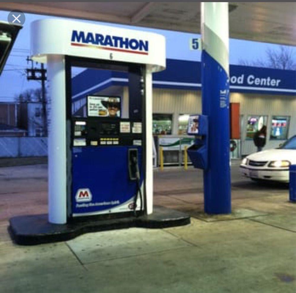 Find Me The Closest Gas Station >> Marathon Gas Station Bensa Asemat 514 W Atherton Rd