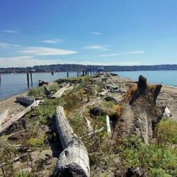 Jetty Island Park Everett Wa  United States