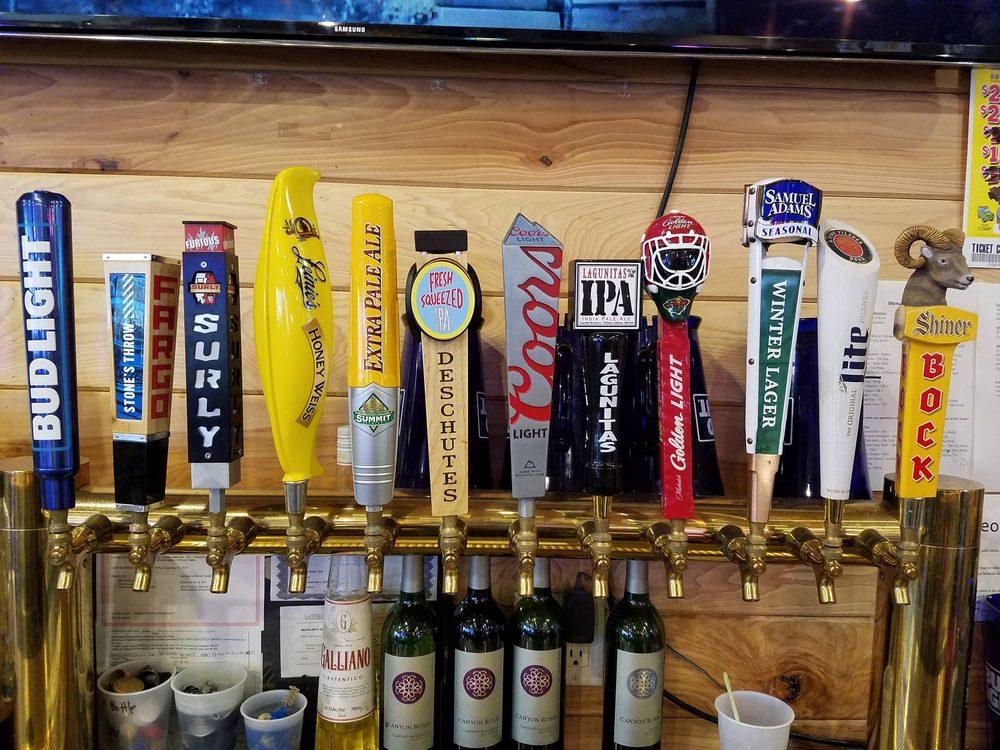 Bleachers Bar & Grill: 25807 County Hwy 22, Detroit Lakes, MN