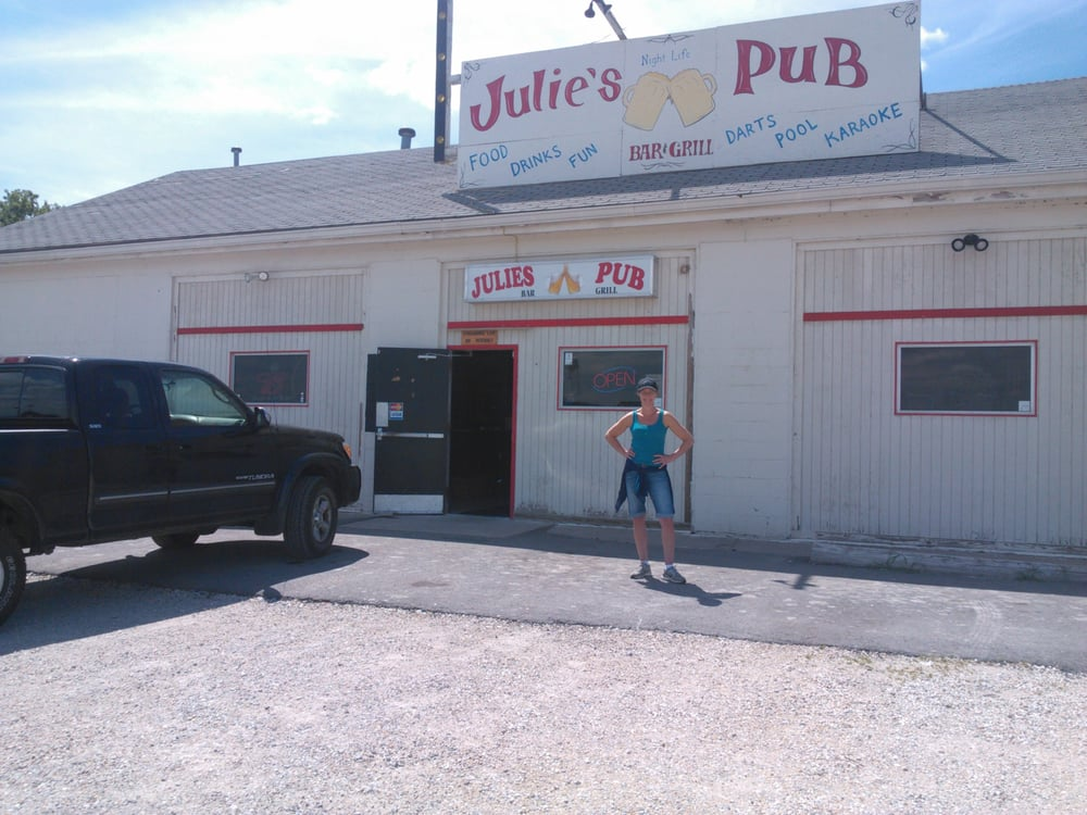 Julies Pub: 100 Frenchman Bluff Ln, Troy, MO
