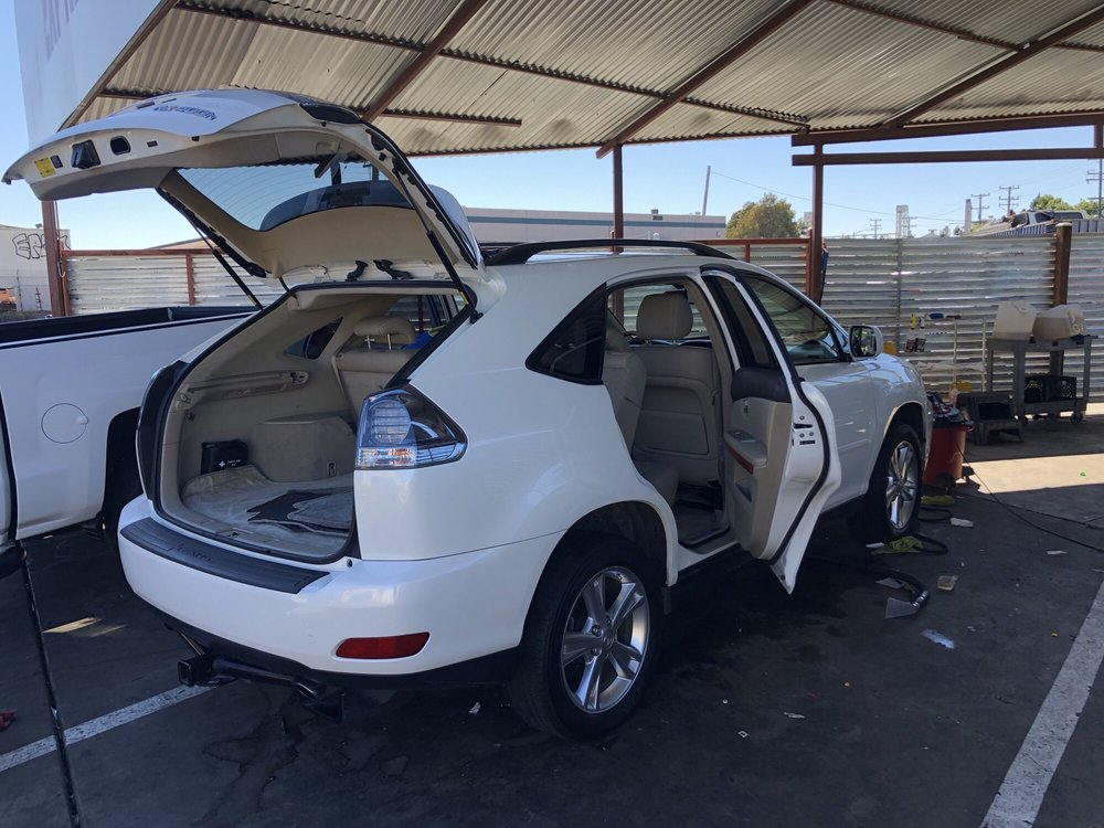 Lexus RX400h getting cleaned - Yelp