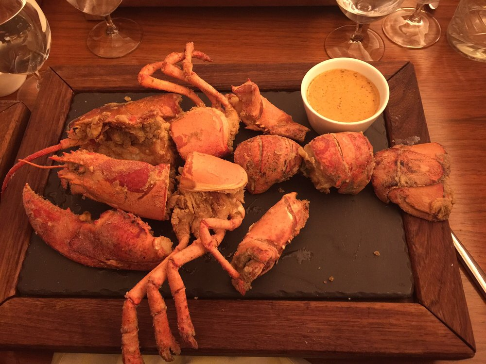 Fried whole lobster yelp for Fish by jose andres