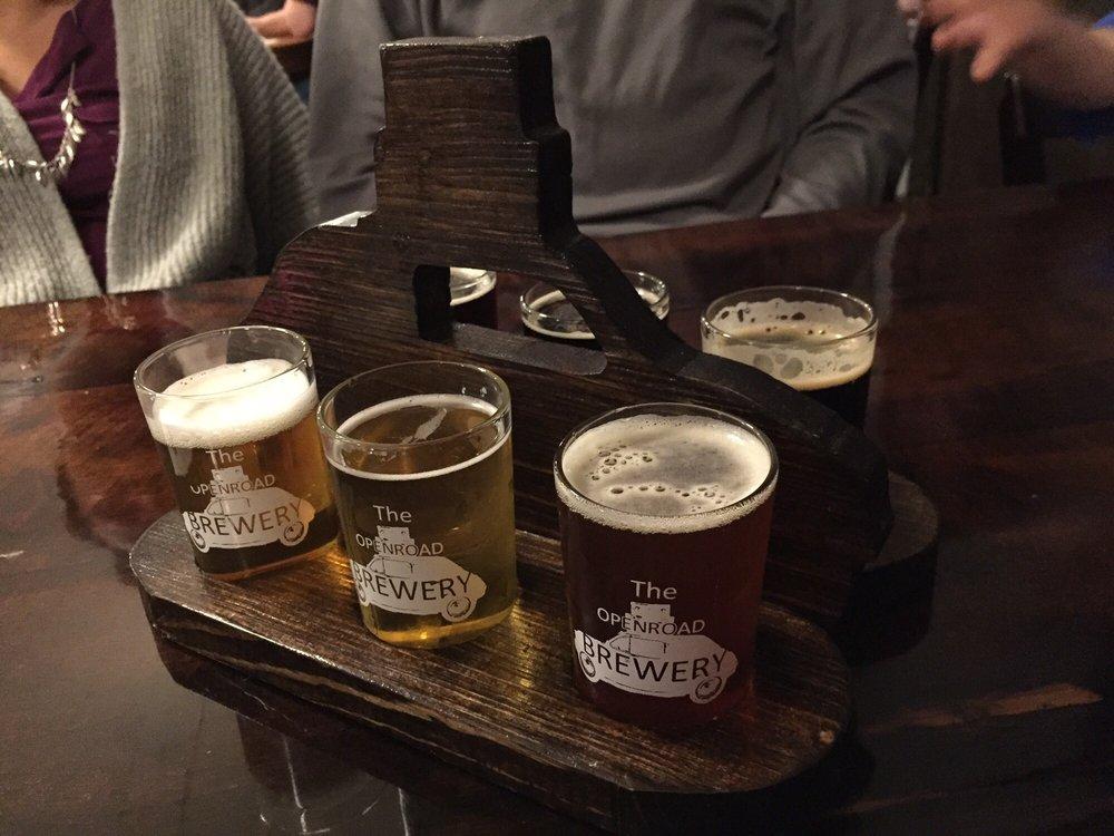 OpenRoad Brewery: 128 S Main St, Wayland, MI