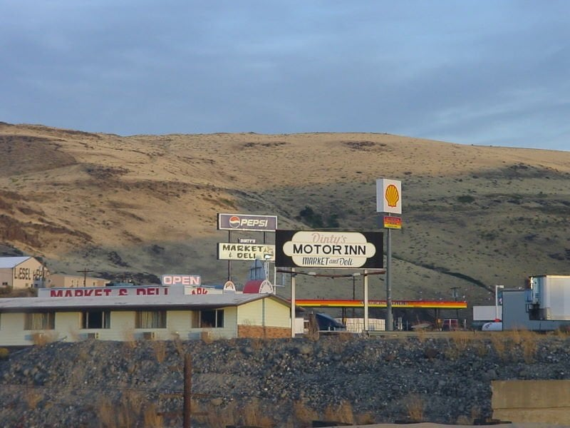 Dinty's Motor Inn: 91581 Biggs-Rufus Hwy, Wasco, OR