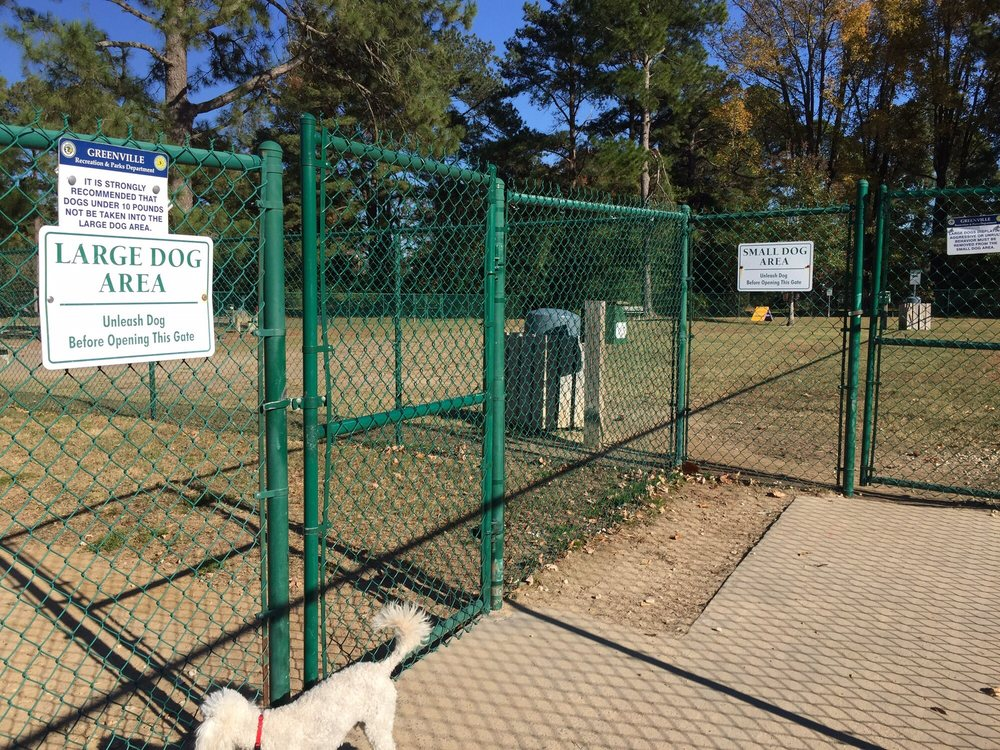 Greenville Dog Park: 200 N Ash St, Greenville, NC