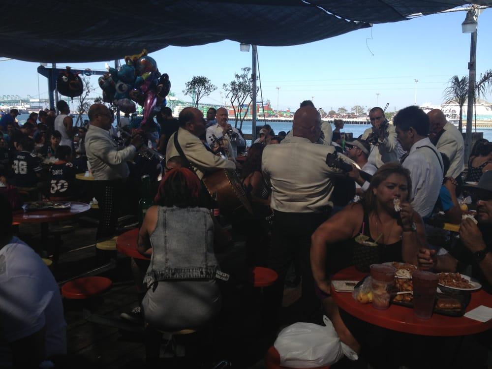 Mariachi bands around every corner yelp for San pedro fish market and restaurant