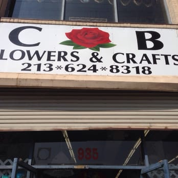 Photo of CB Flowers & Crafts - Los Angeles, CA, United States. Sign
