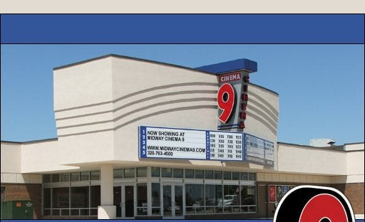 Midway Mall Cinema 9: 2910 S Broadway St, Alexandria, MN