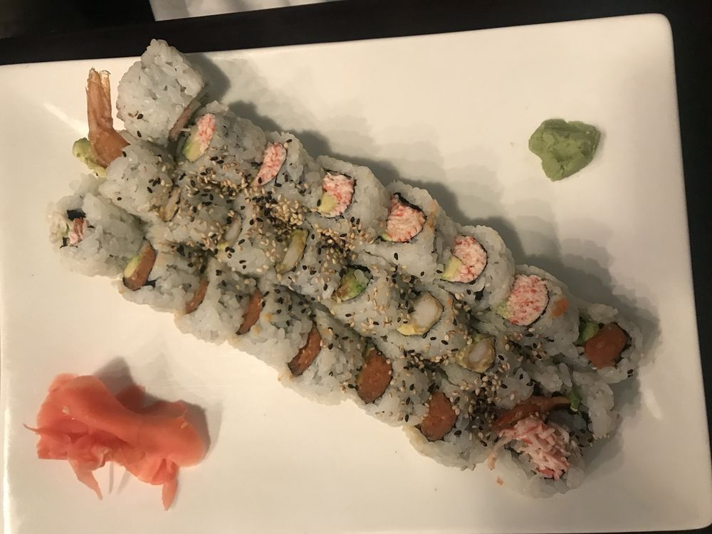 Food from BlueFin Sushi & Grill