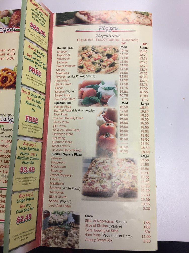 Randazzo's Pizza: 18 E Main St, Tremont, PA