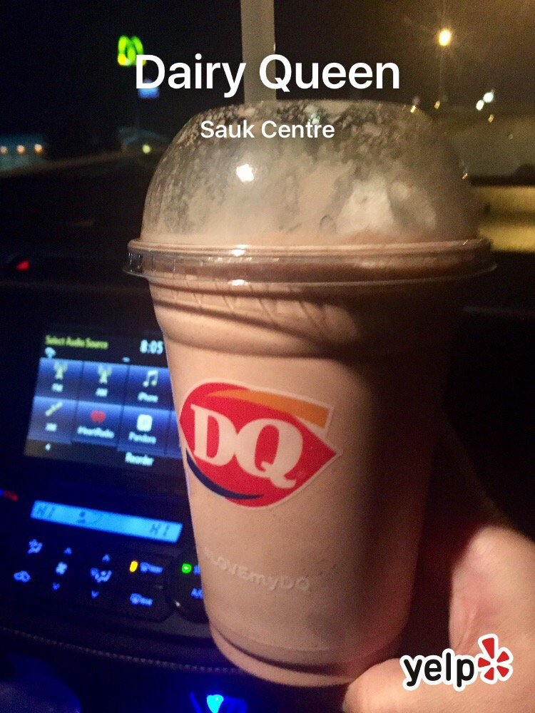 Dairy Queen Grill & Chill: 1171 S Main St, Sauk Centre, MN