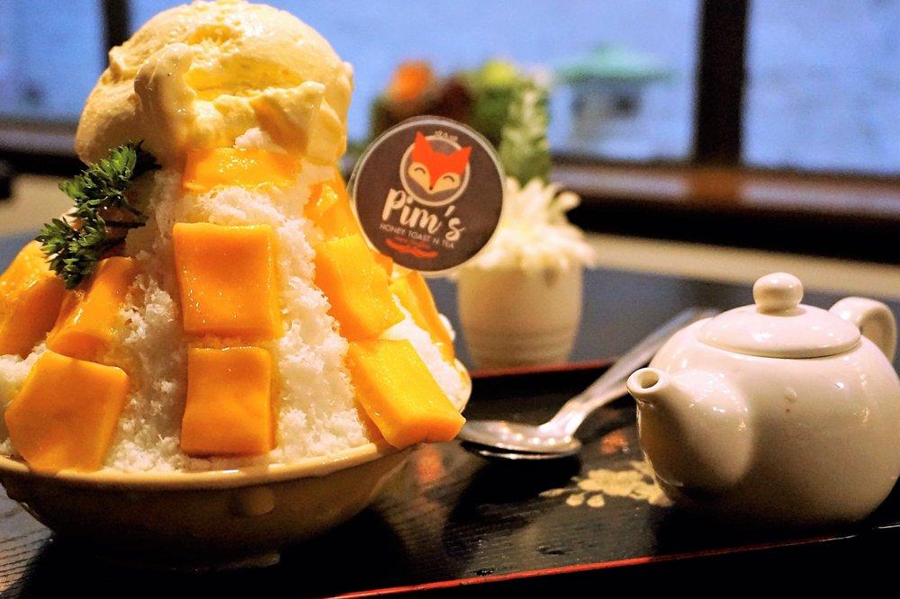 Pim's Honey Toast N Tea: 615 SW Broadway, Portland, OR