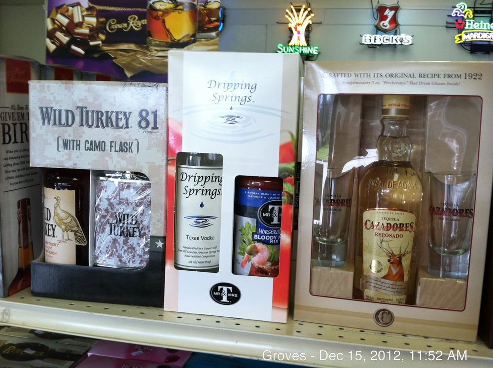 Longhorn Liquor: 5945 39th St, Groves, TX