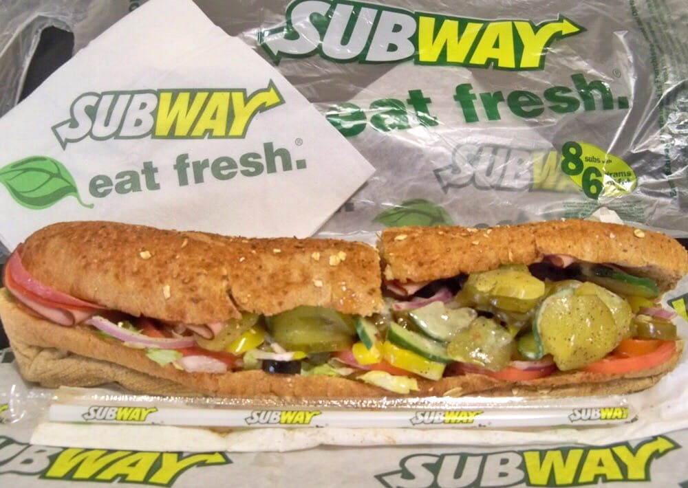 Subway Fast Food In China