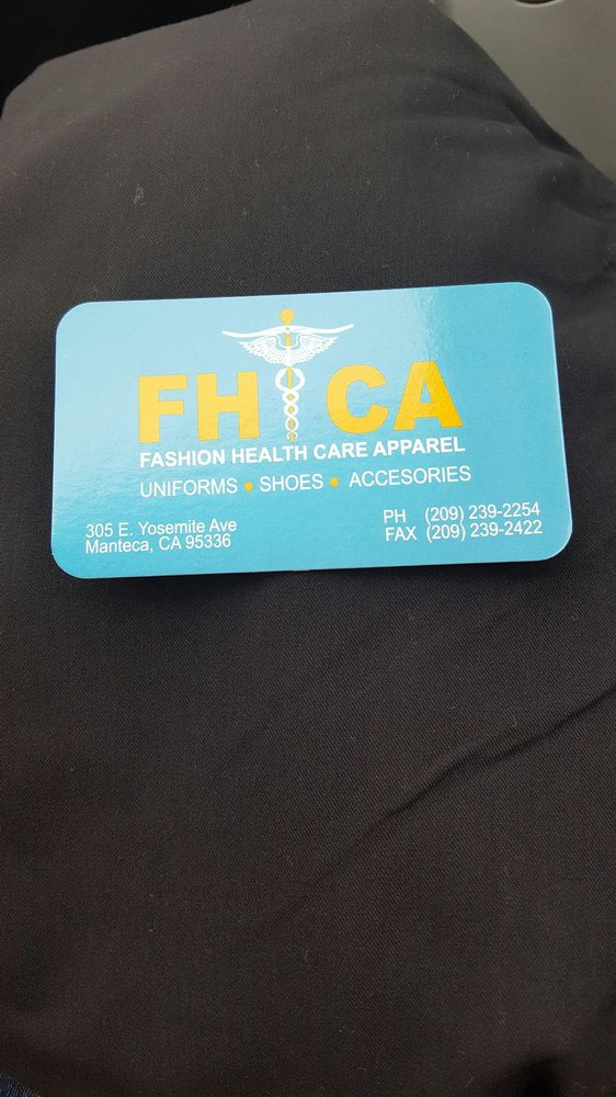 Fashion Health Care Apparel: 305 E Yosemite Ave, Manteca, CA