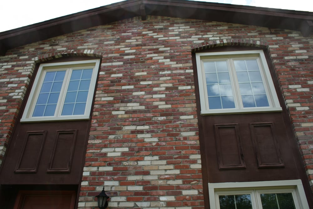 Tan Vinyl Casement Windows With Colonial Grids Greentree