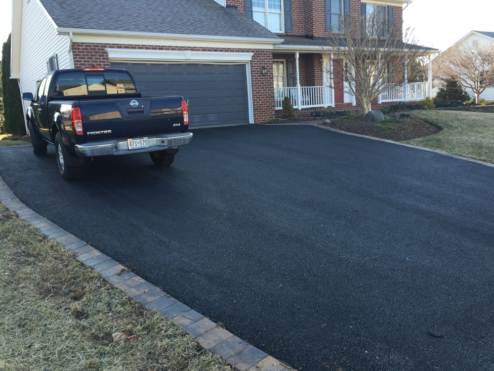 Photo Of Driveways 2day Frederick Md United States Asphalt Driveway With Paver