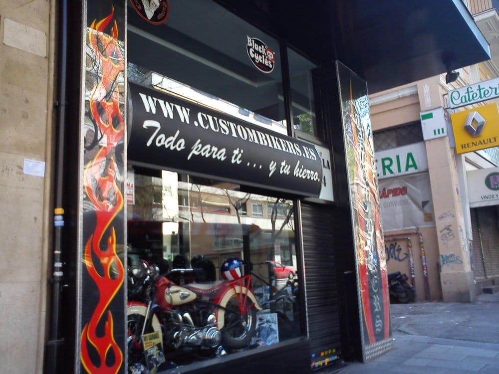 Custom bikers repuestos y accesorios calle de alcal - Repuestos persianas madrid ...