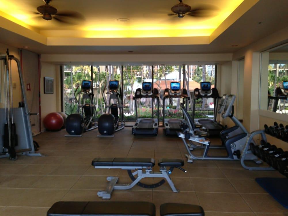Hilton Hawaiian Village Waikiki Beach Photo Gallery: Looking Into Fitness Center