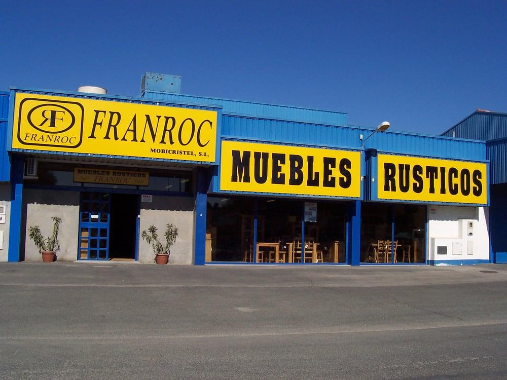 Franroc tiendas de muebles avenida alcalde cantos for Telefono registro bienes muebles madrid