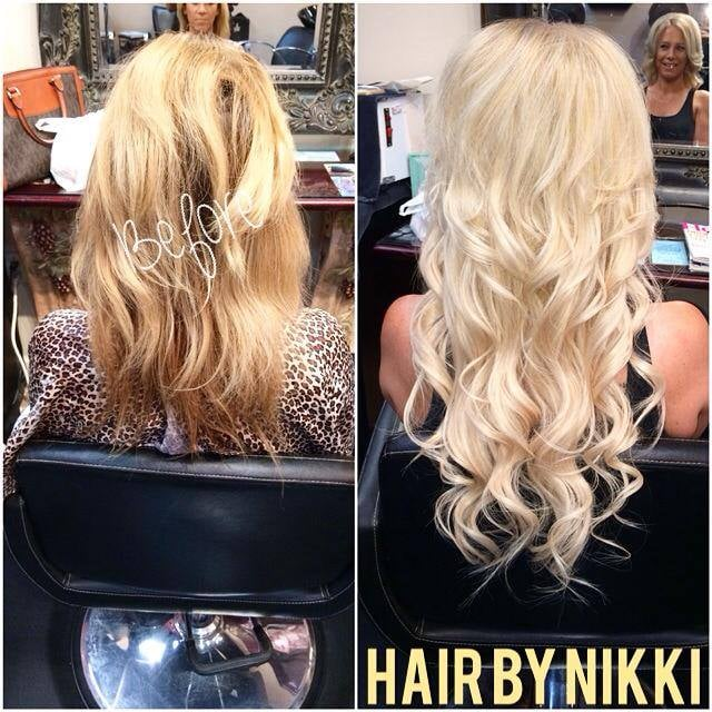 Full Head Highlights And 18in Extensions Yelp