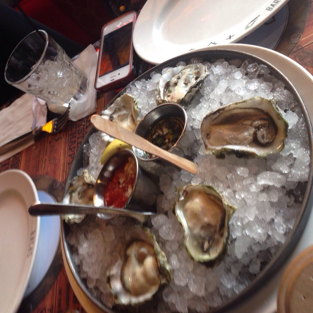 Kumamoto oysters 3 each yelp for Racks fish house