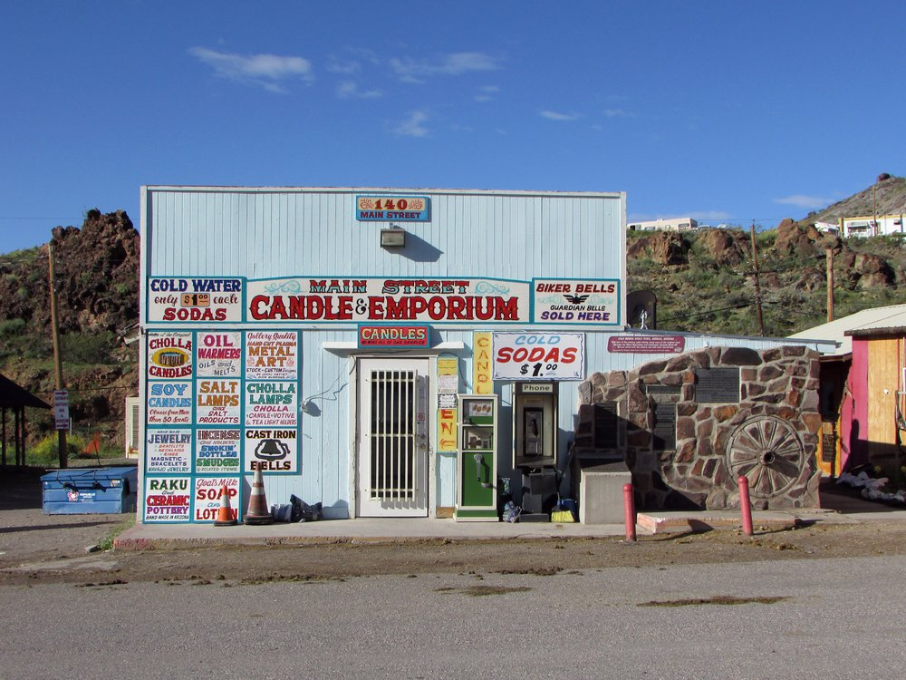 Main Street Emporium: 140 Main Street, Oatman, AZ