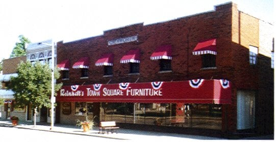 Store Front In Downtown Warsaw Indiana