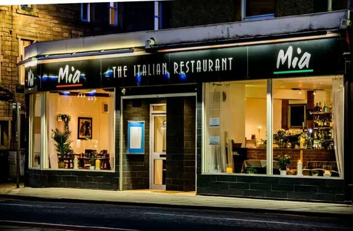 Mia restaurant 27 photos 13 reviews italian 96 for O kitchen edinburgh menu